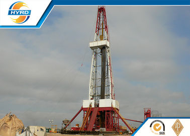 China API Grade Land Oil Well Drilling Rig , Electrical Onshore Drilling Rig Equipment supplier