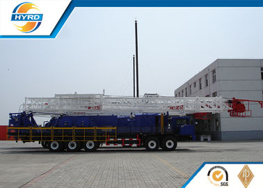 China 150 Ton Api Workover Rig Drilling Equipment / Well Drilling Tools Equipment supplier