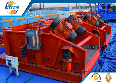 China Solid Control Equipment High Vibration Force Liner Shale Shaker For Oilfield Sand supplier
