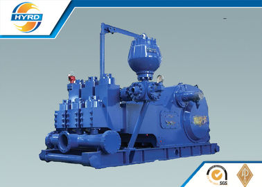 China Iron F Series Drilling Mud Pumps , Oilfield Mud Pumps For Drilling Rigs supplier