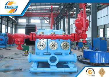 China Oil Well Drilling Equipment Casting Triplex Drilling Mud Pumps API Standard supplier