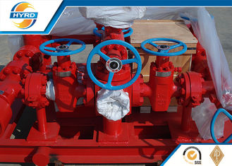 China Onshore Drilling Well Control Equipment Hydraulic Drilling Choke Manifold supplier