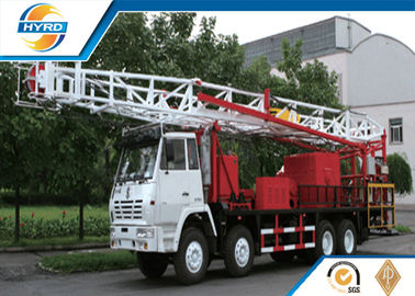 China Oil Well Equipment Non Guyline Workover Rig For Complex Field Conditions supplier