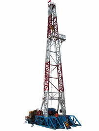 China Electrical Onshore Steel Oilfield Drilling Equipment With 4000 - 7000 M Drilling Depth supplier