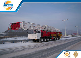 China Truck Mounted Onshore Oilfield Workover Rig , Workover Well Drilling Equipment supplier