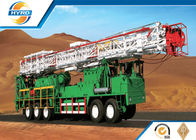 China Well Drilling Equipment Washing Workover Rig Complete With Piston Pump factory