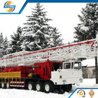 China Professional Onshore Oil Well Workover Oil Rig Truck Mounted Without Guyline company