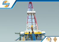 Electrical Onshore Steel Oil Drilling Rig  , Oil Well Drilling Equipment Skid Mounted