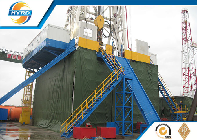 Hydraulic Rotary Oil Drilling Rig Machine For Oilfield , Onshore Drilling Rig